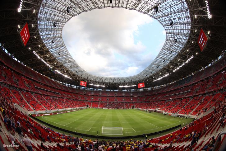 Puskás Aréna, ahol a budapesti Szuperkupa-meccset rendezik