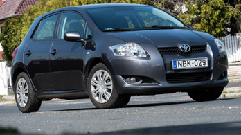 Használt: Toyota Auris 1.6 Dual VVTi – 2008.