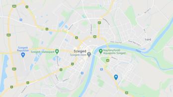 Egy áruház sövénykerítésének ütközött és meghalt egy sofőr Szegeden