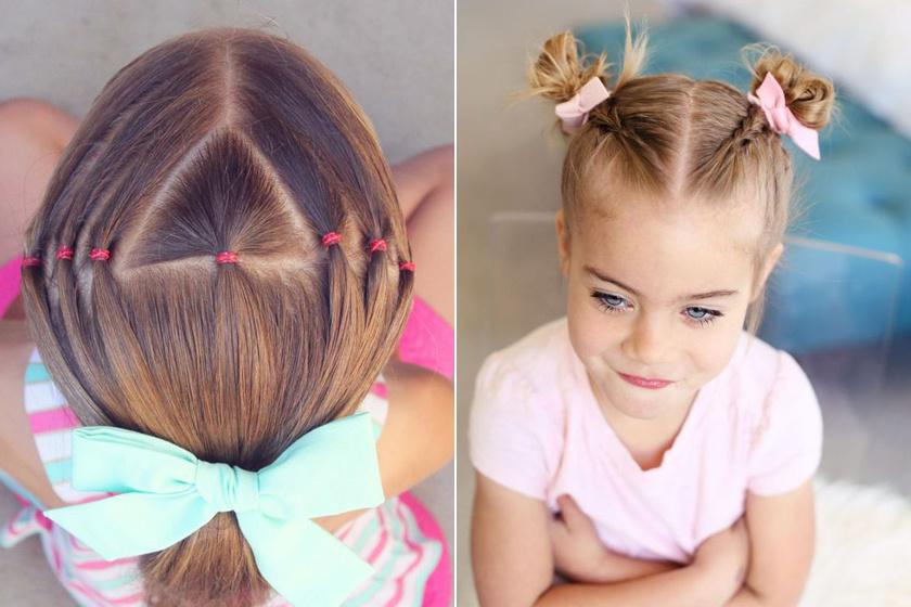 Könnyen elkészíthető iskolás frizurák kislányoknak: percek alatt kész vannak