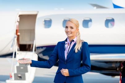 stewardess repülőgép