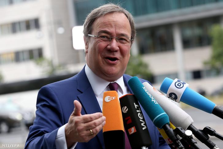 Armin Laschet észak-rajna-vesztfáliai tartományi kormányfő a német Kereszténydemokrata Unió (CDU) egyik alelnöke