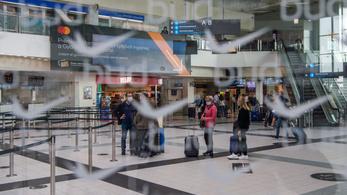 Lezárják a ferihegyi repülőtér egy részét