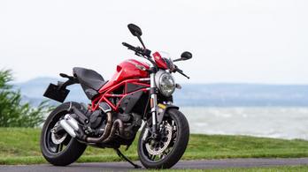 Teszt: Ducati Monster 797 – 2020.