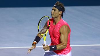 Hét hónap kihagyás után visszatér Rafael Nadal