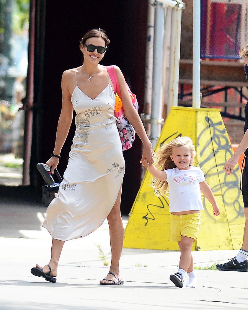 Bradley Cooper és Irina Shayk kislánya az egyik legcukibb sztárcsemete.