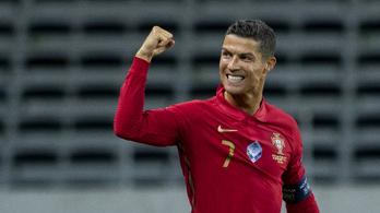 Cristiano Ronaldo történelmet írt, de egyvalaki még így is megelőzi