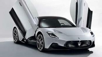 Kiderült, hogy néz ki a Maserati új sportkocsija