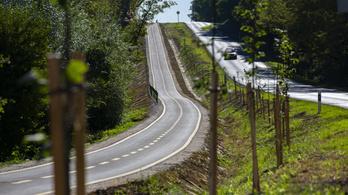Átadták a Ságvár és Som közötti 5,6 kilométeres, 627 millió forintos bicikliutat