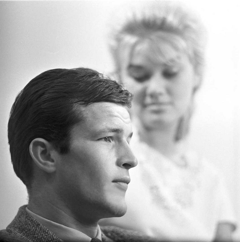 A fiatal Bujtor István 1962 szeptemberében.