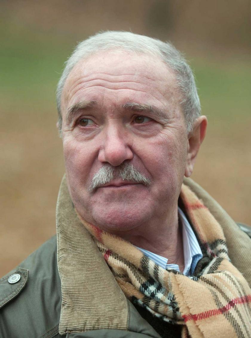 Tordy Géza színművész, rendező 2011 novemberében a Tabánban.