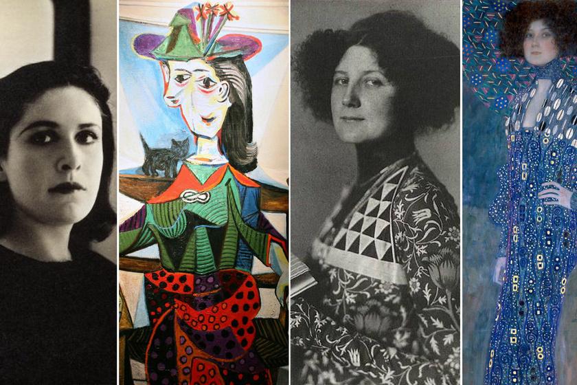 Képeken a világ leghíresebb festőinek múzsái: ezek a gyönyörű nők inspirálták őket