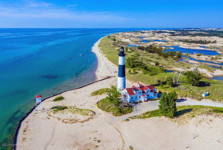 A Michigan-háromszög egyik vége állítólag Ludingtonnál, egy 8000 lakosú kisvárosban lehet.