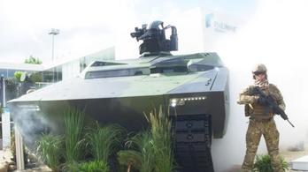 Mennyire harapós a Hiúz? A Lynx lövészpáncélos