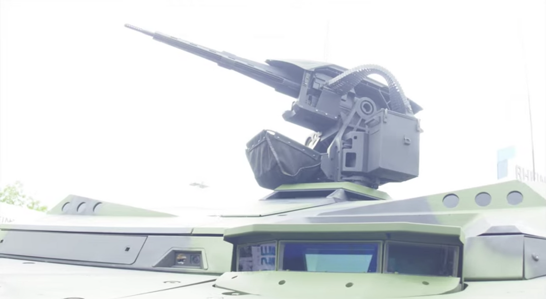 Lance 2.0 turret