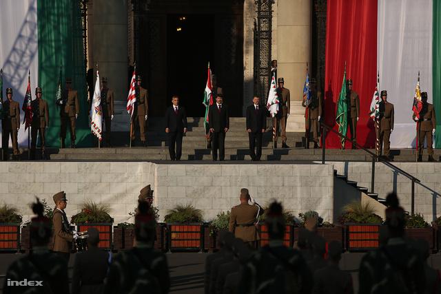 Orbán Viktor, Áder János és Kövér László