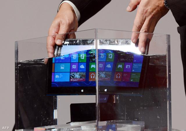 A Windows 8-nak szárazon és vízen is bizonyítania kell a tablet piacon