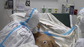 Egy nap alatt négyezerrel nőtt a koronavírussal fertőzöttek száma Spanyolországban