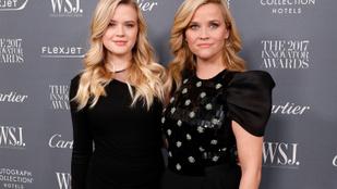 Reese Witherspoon kedves poszttal köszöntötte fel 21 éves lányát