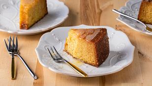 Egyszerű citromos süti – gyömbérrel és szerecsendióval teheted még izgalmasabbá