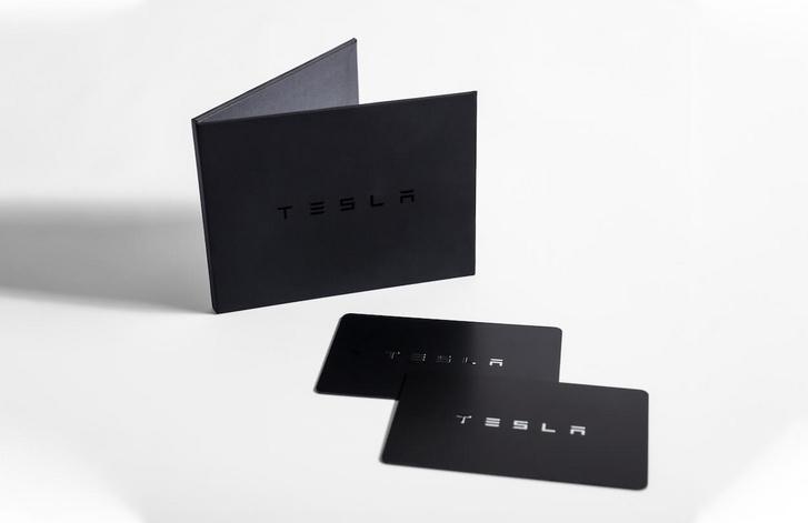 Tesla kulcskártya