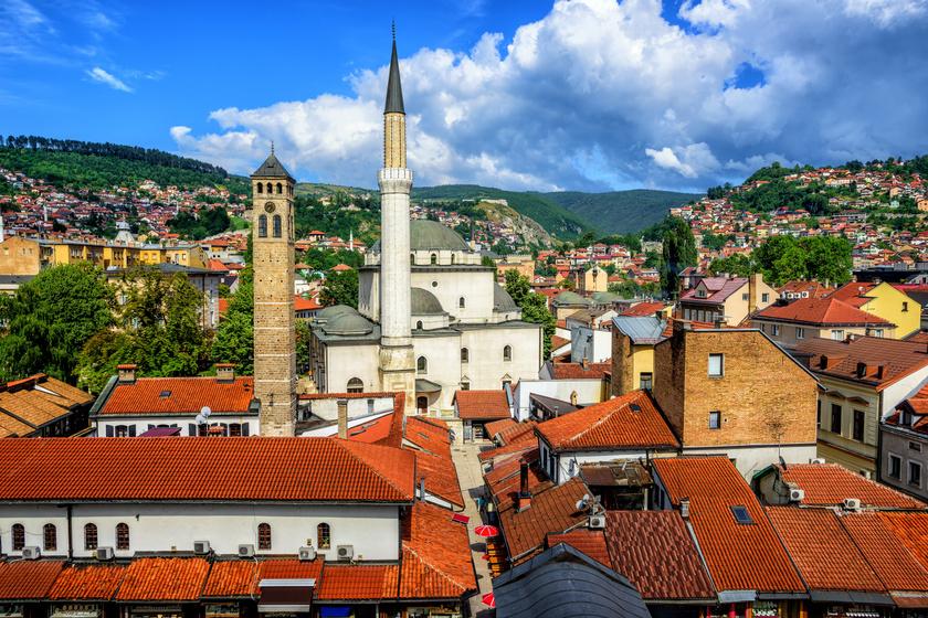Ilyen gyönyörű Szarajevó Váci utcája: a csupa szív emberek vendégszeretete is elragadó