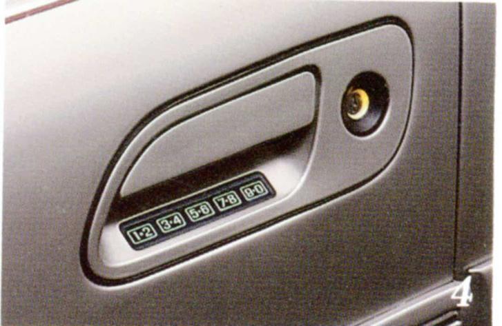 A 80-as években a Ford feltalálta az autós PIN-kódot. Ez itt egy 1991 Lincoln Continental.