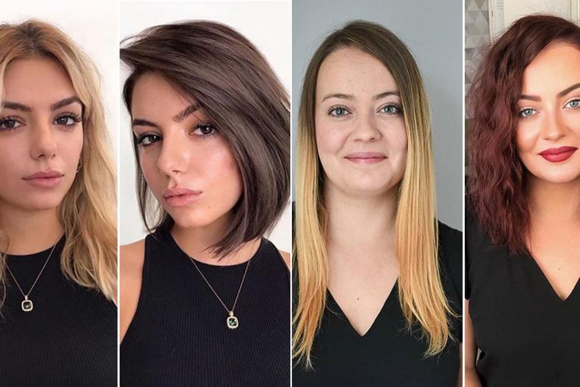 Ezerszer nőiesebbek lettek az új frizurával: előtte-utána fotókon 10 nő átalakulása