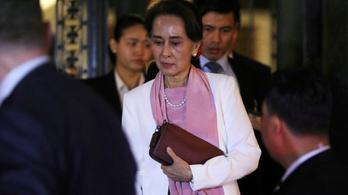 Kitagadta Aung Szan Szú Csít a Szaharov-díjazottak közösségéből az Európai Parlament
