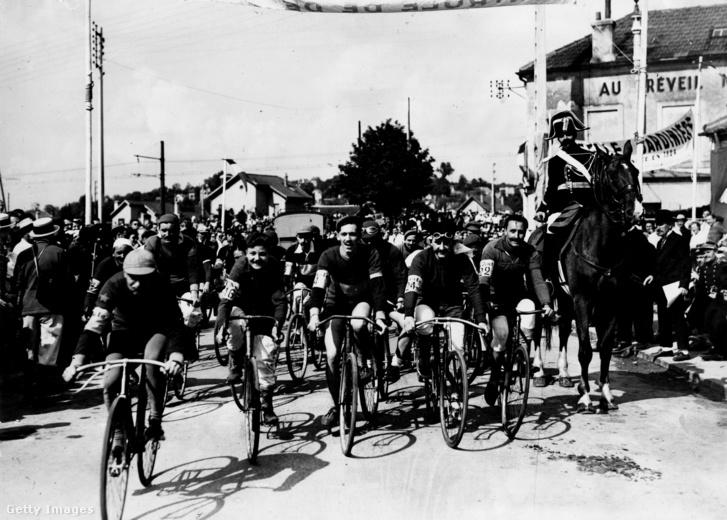Az 1903-as Tour de France rajtja
