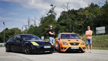 Tulaj a pályán: a hegyes Nissan, vagy a mérges Ford a gyorsabb?