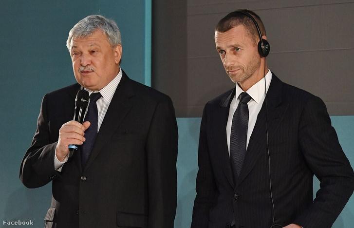 Csányi Sándor és Aleksander Čeferin