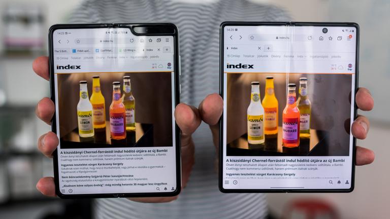 Galaxy Z Fold 2: három eszköz egy zsebben