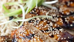 Teriyaki csirke grillezve – egyszemélyes adagban is könnyen elkészíthető