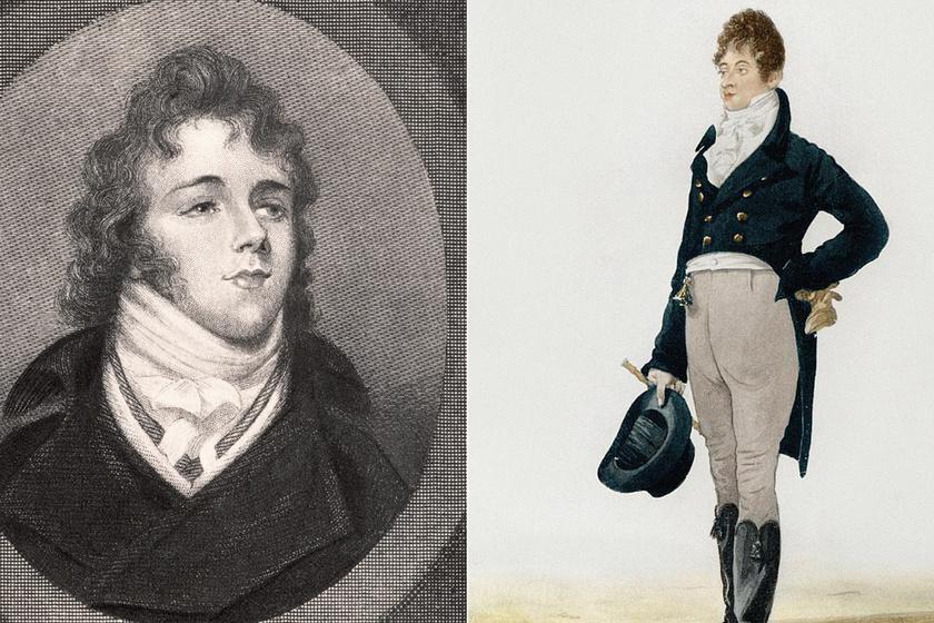 Így nézett ki a 19. századi London legdivatosabb férfija: Beau Brummellt stílusérzéke igazi hírességgé tette akkoriban