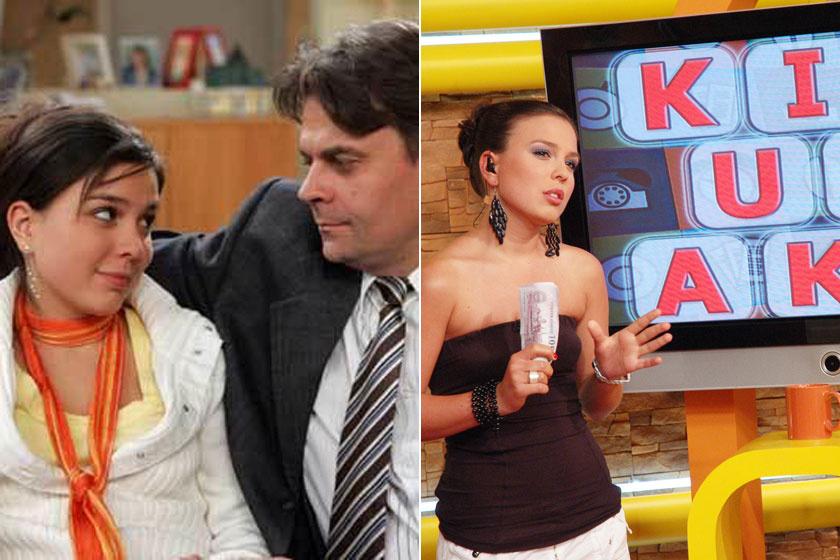 Marenec Fruzsina a Barátok köztben, illetve az RTL Klub Reggeli betelefonálós műsorában.