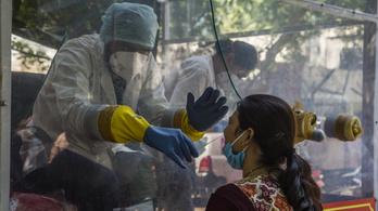 Terjedő járvány idején csökken a halálozási arány Indiában