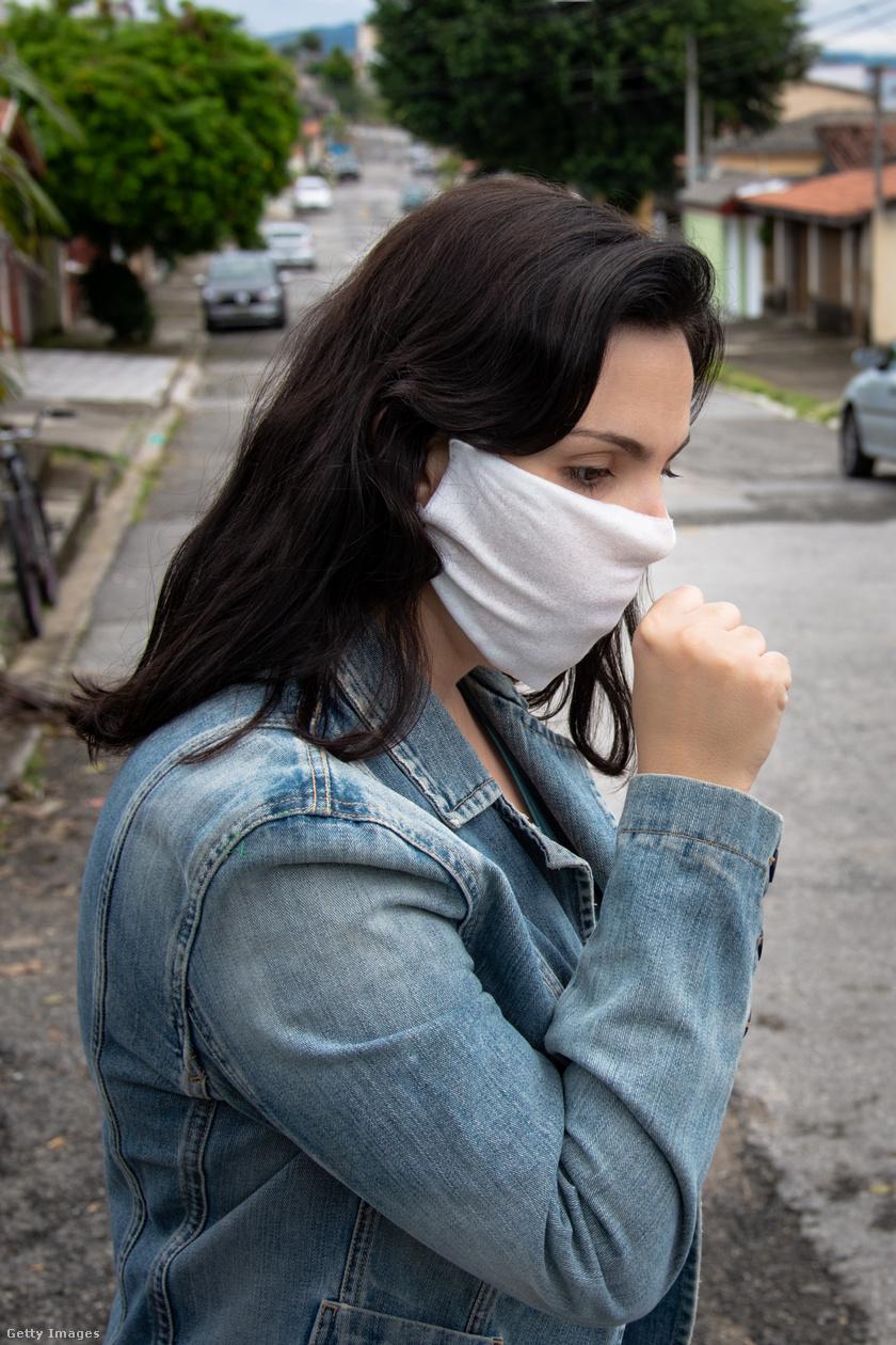 köhögés utcán