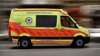 Három mentőegység küzdött egy csecsemő életéért Dél-Alföldön
