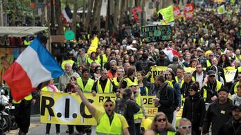Újabb akcióra készülnek hétvégén a sárgamellényesek több francia városban