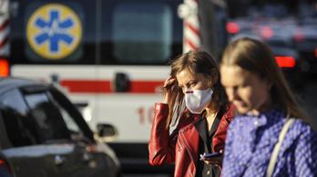 Ukrajnában soha annyian nem haltak bele  koronavírus-fertőzésbe, mint pénteken