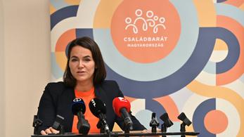 Novák Katalin miniszter lesz, a családok életszínvonaláért felel