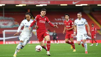 Szalah mesterhármasával nyert a Liverpool