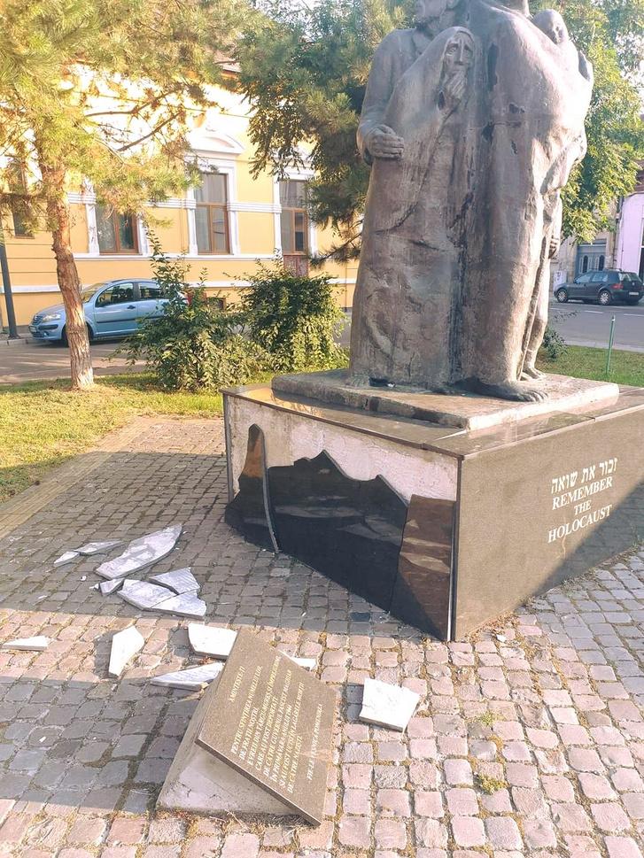 holokauszt emlekmu Marosvasarhely