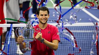 Fordulatos, ötszettes meccsen győzte le Thiem Zverevet a US Open döntőjében