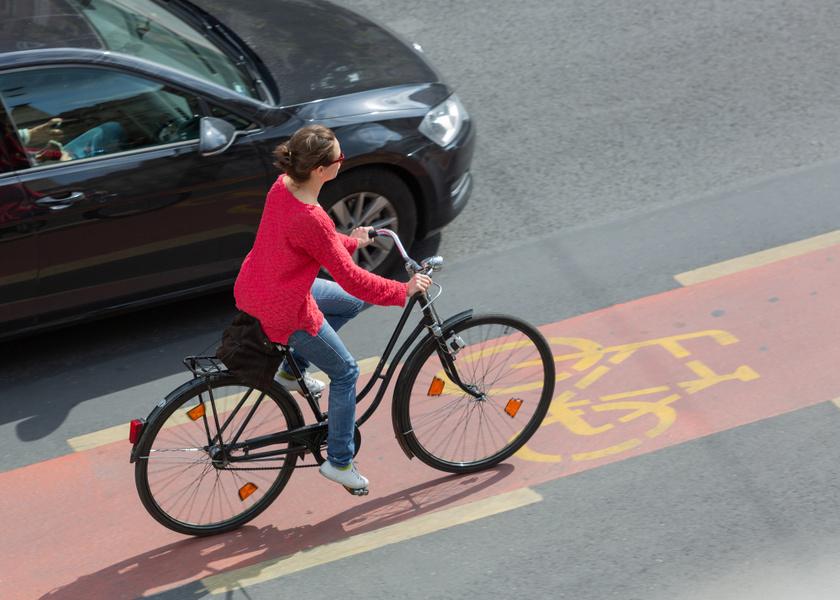budapest biciklisáv