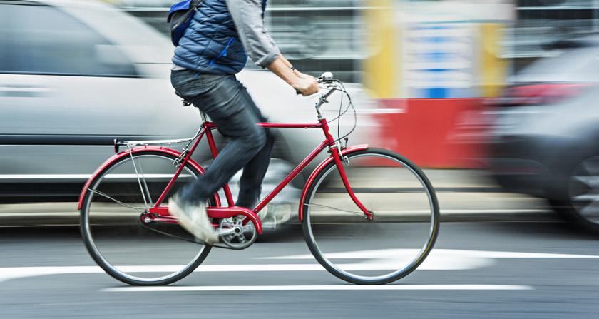 kerékpár közlekedés