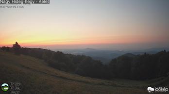 Magyarország fölé ért az amerikai erdőtüzek füstje