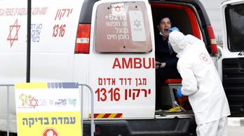 Három hétre vesztegzárat vezet be a koronavírus miatt Izrael