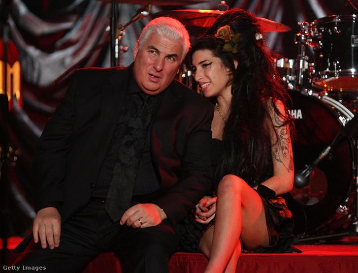 Mitch és Amy Winehouse 2008-ban